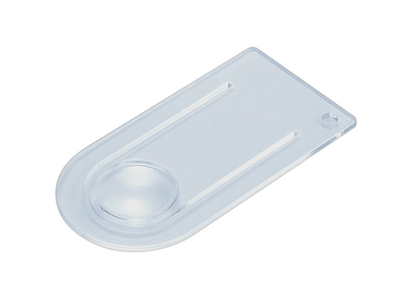 Clear Acrylic Bookmark Magnifier